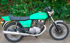 Photo of a 1980 Laverda 500