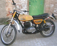 Photo of a 1973 Montesa 250 King Scorpion