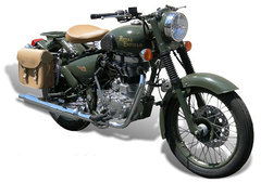 Photo of a 2010 Royal Enfield Bullet G5 Military EFI
