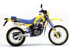 Photo of a 1986 Suzuki DR 100