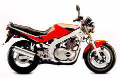 Photo of a 1994 Suzuki GS 500 E
