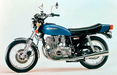 Photo of a 1976 Suzuki GS 750