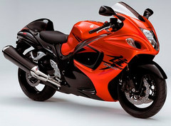 Photo of a 2008 Suzuki GSX 1340 R