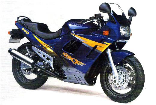 Suzuki GSX 600 F 1997 Motorcycle Photos and Specs