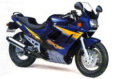 Photo of a 1997 Suzuki GSX 600 F