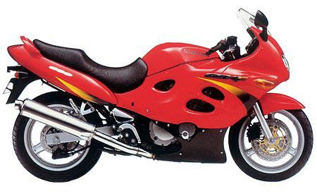 1998 Suzuki GSX 600 F (Katana)