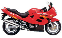 Photo of a 1998 Suzuki GSX 600 F