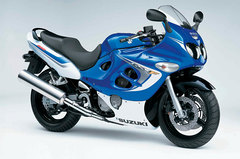 Photo of a 2006 Suzuki GSX 600 F