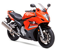 Photo of a 2009 Suzuki GSX 650 F