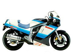 Photo of a 1986 Suzuki GSX-R 1100