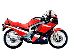 Photo of a 1989 Suzuki GSX-R 1100