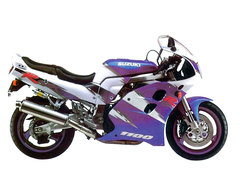 Photo of a 1997 Suzuki GSX-R 1100 W