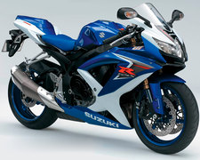 Photo of a 2008 Suzuki GSX-R 600