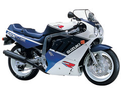 Photo of a 1989 Suzuki GSX-R 750