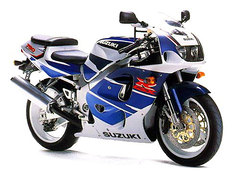 Photo of a 1997 Suzuki GSX-R 750