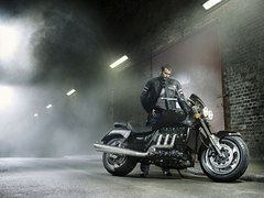 Photo of a 2010 Triumph Rocket III Roadster
