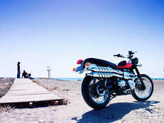 Photo of a 2006 Triumph Scrambler