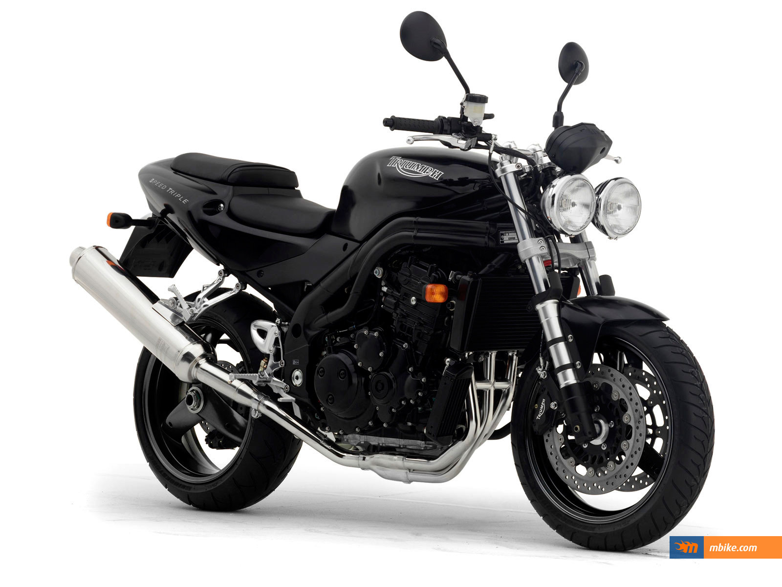 2004 triumph speed triple 955 wallpaper - mbike