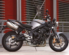 Photo of a 2010 Triumph Street Triple