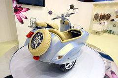 Photo of a 2009 Vespa GTV 250 ie Sidecar