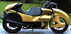 Photo of a 1980 Yamaha Alula Colani Design