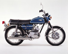 Photo of a 1971 Yamaha CS 200