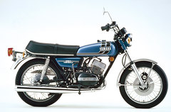 Photo of a 1973 Yamaha RD 250