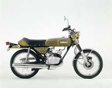 Photo of a 1974 Yamaha RD 50