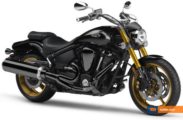 2010 Yamaha Road Star Midnight Warrior