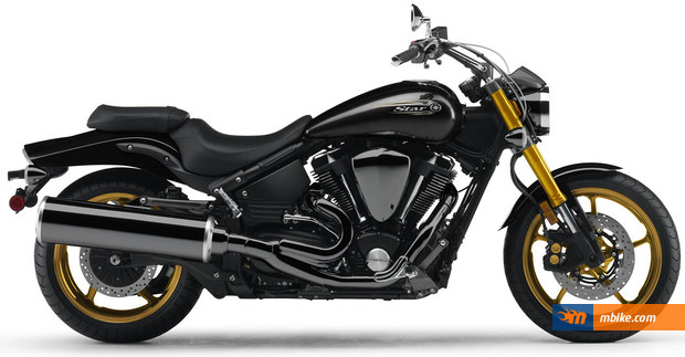 2010 Yamaha Road Star Midnight Warrior