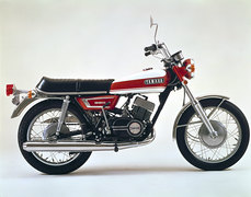 Photo of a 1970 Yamaha RX 350