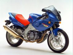 Photo of a 1997 Yamaha SZR 660