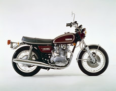 Photo of a 1973 Yamaha TX 650
