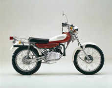 Photo of a 1975 Yamaha TY 80