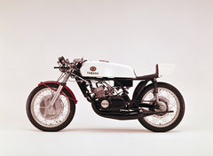 Photo of a 1973 Yamaha TZ 350