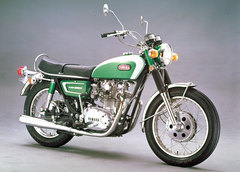 Photo of a 1971 Yamaha XS 650 E