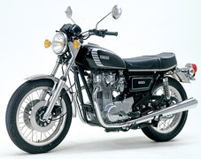 Photo of a 1974 Yamaha XS 650 E