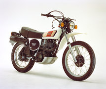 Photo of a 1977 Yamaha XT 500