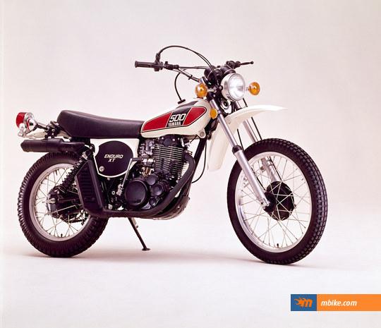 1978 Yamaha XT 500