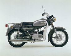 Photo of a 1973 Yamaha YB 125 E