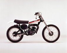 Photo of a 1975 Yamaha YZ 125 M