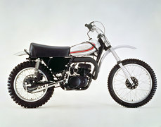 Photo of a 1973 Yamaha YZ 250