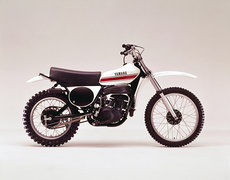 Photo of a 1975 Yamaha YZ 250