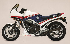 Photo of a 1987 Honda VF 1000 F