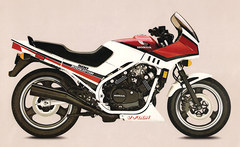 Photo of a 1984 Honda VF 500 F