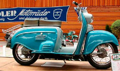 Photo of a 1956 Adler Junior 100