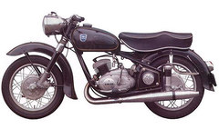 Photo of a 1956 Adler MBS 250