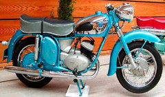 Photo of a 1957 Adler MBS 250 Favorit