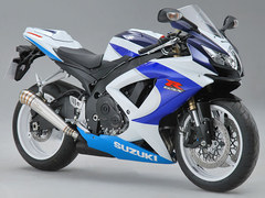 Photo of a 2010 Suzuki GSX-R 600 25th Anniversary Limited Edition