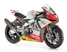 Photo of a 2010 Aprilia RSV4 Max Biaggi Replica